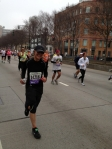 GV halfway thru a half-marathon earlier in the year.