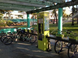 Dozens of stations similar to this around Miami Beach