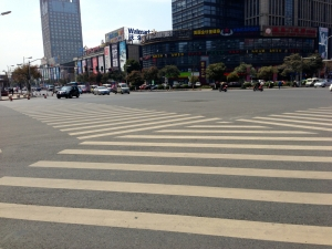 crosswalk, before they are full of chicken gamers