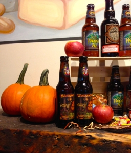 beer and pumpkin seem to go together