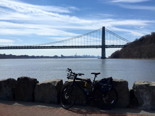 last Sunday was fortunate to take a 30 mile ride over GW bridge to New Jersey, Palisades Interstate Park