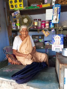 we bought some indigo dyed ropes from this lady at a roadside village shop