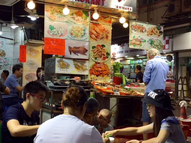 night market food