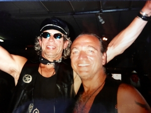 in Sturgis with friend S Panzerela