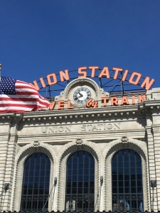 Union Station with service to the airport starting next month