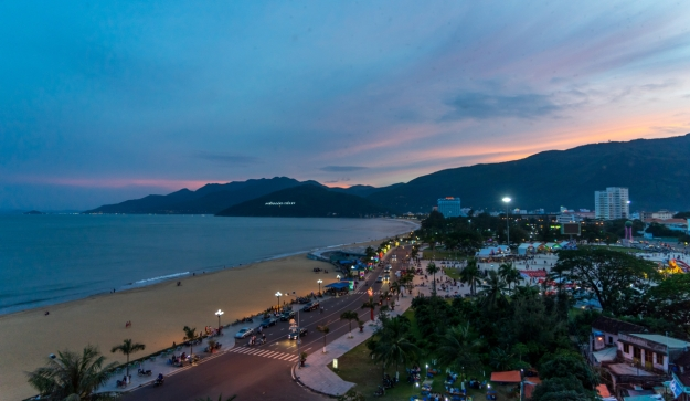 our hotel view in Qui Nhon (credit to SSS)